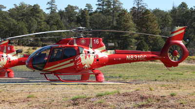 N831GC - Eurocopter EC 130T2 - Papillon Grand Canyon Helicopters