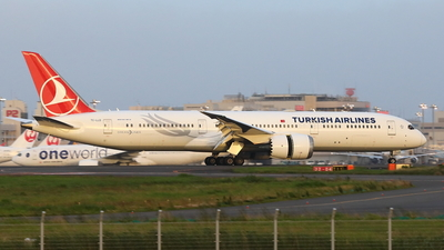 A picture of TCLLD - Boeing 7879 Dreamliner - Turkish Airlines - © N.daisuke