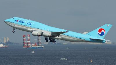 HL7489 - Boeing 747-4B5 - Korean Air