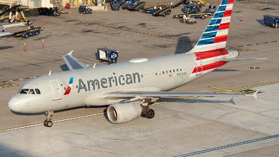 N763US - Airbus A319-112 - American Airlines