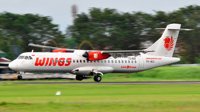 PK-WGV - ATR 72-212A(600) - Wings Air