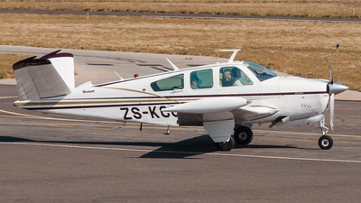 ZS-KCC - Beechcraft V35B Bonanza - Private