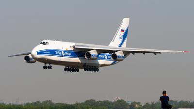 A picture of RA82046 - Antonov An124100 Ruslan - VolgaDnepr Airlines - © JetblastAviation
