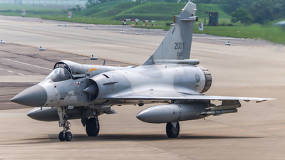 2001 - Dassault Mirage 2000-5EI - Taiwan - Air Force