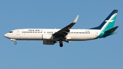 9V-MGL - Boeing 737-8SA - SilkAir
