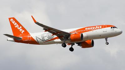G-UZHE - Airbus A320-251N - easyJet