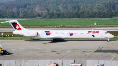 HB-INV - McDonnell Douglas MD-82 - Swissair