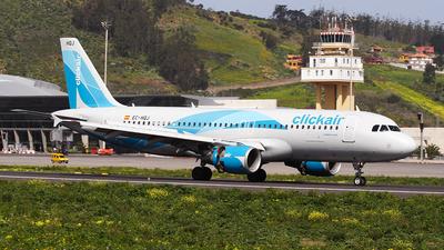 EC-HQJ - Airbus A320-214 - Clickair