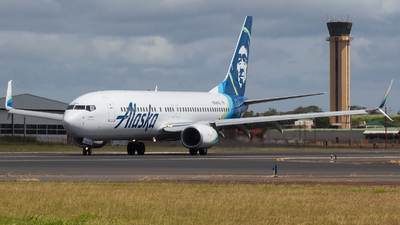 N564AS - Boeing 737-890 - Alaska Airlines