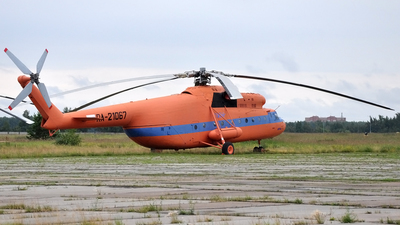 RA-21067 - Mil Mi-6 Hook - UTair Aviation