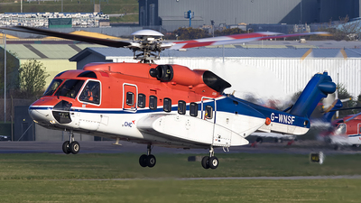 A picture of GWNSF - Sikorsky S92A Helibus - CHC Helikopter Service - © Danny Nixon