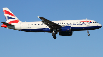 G-EUUB - Airbus A320-232 - British Airways