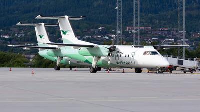 A picture of LNWSB - De Havilland Canada Dash 8200 - Wideroe - © Kim Vanvik