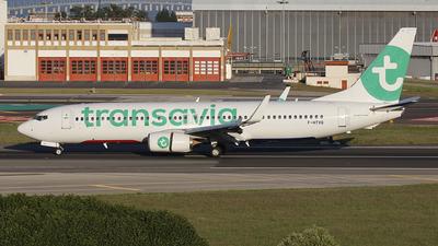 F-HTVQ - Boeing 737-8AL - Transavia France