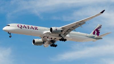 A7-ANQ - Airbus A350-1041 - Qatar Airways
