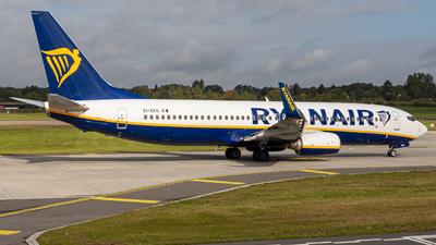 A picture of EIEKG - Boeing 7378AS - Ryanair - © Mario Trusch
