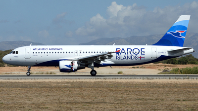 OY-RCJ - Airbus A320-214 - Atlantic Airways