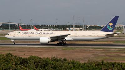 HZ-AK18 - Boeing 777-368ER - Saudi Arabian Airlines