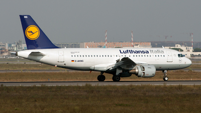 D-AKNG - Airbus A319-112 - Lufthansa Italia