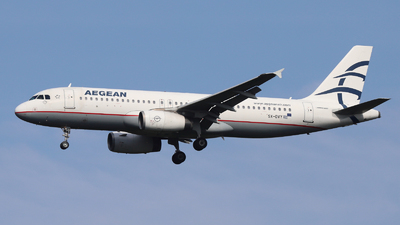 A picture of SXDVY - Airbus A320232 - Aegean Airlines - © Holger Eultgen