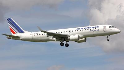F-HBLA - Embraer 190-100LR - Air France (Régional Compagnie Aerienne)