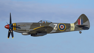 D-FSPT - Supermarine Spitfire XVIIIE - Private