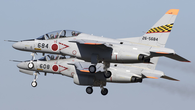 26-5684 - Kawasaki T-4 - Japan - Air Self Defence Force (JASDF)