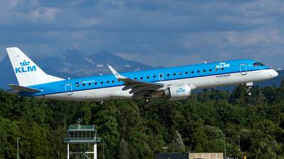 PH-EZA - Embraer 190-100STD - KLM Cityhopper
