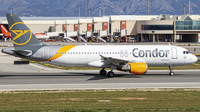 A picture of DAICA - Airbus A320212 - Condor - © Javier Temes - PMI Plane Spotting