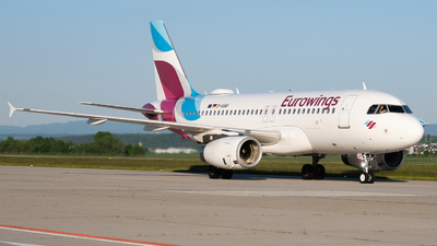 A picture of DAGWF - Airbus A319132 - Eurowings - © Dominik Erhardt