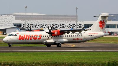 PK-WGQ - ATR 72-212A(600) - Wings Air