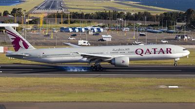 A picture of A7BEL - Boeing 7773DZ(ER) - Qatar Airways - © MQ1131
