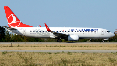 TC-JZF - Boeing 737-8F2 - Turkish Airlines
