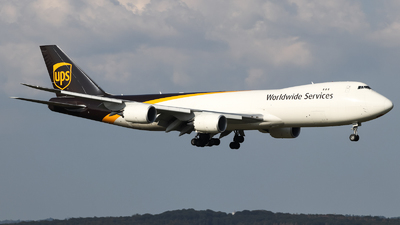 A picture of N622UP - Boeing 7478F - UPS - © Jan Born Photography