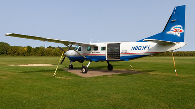 N801FL - Cessna 208B Super Cargomaster - Private