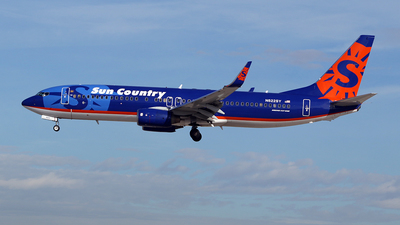 N822SY - Boeing 737-8BK - Sun Country Airlines