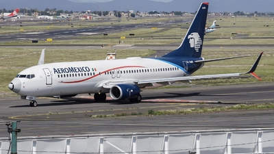 XA-AMN - Boeing 737-852 - Aeroméxico