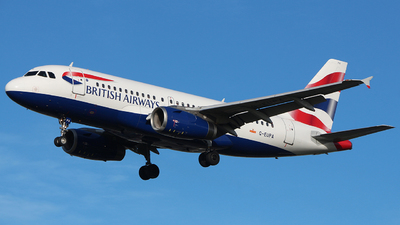 G-EUPA - Airbus A319-131 - British Airways