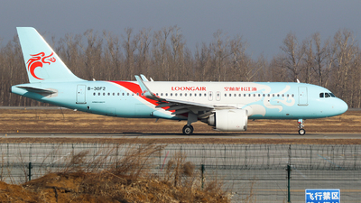 A picture of B30F2 - Airbus A320251N - Loong Air - © King Wang