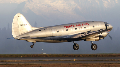 N1837M - Curtiss C-46F Commando - Everts Air Fuel