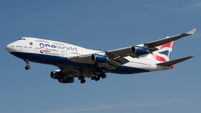 G-CIVC - Boeing 747-436 - British Airways