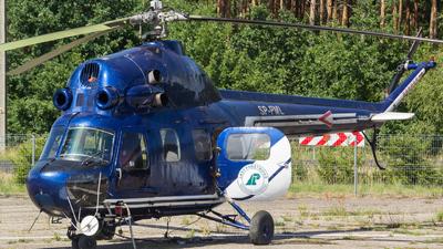 SP-PML - PZL-Swidnik Mi-2 Hoplite - Private