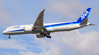 A picture of JA923A - Boeing 7879 Dreamliner - All Nippon Airways - © Mohamed Rizwan