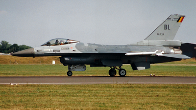 FA-124 - General Dynamics F-16A Fighting Falcon - Belgium - Air Force