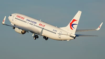B-5515 - Boeing 737-89P - China Eastern Airlines