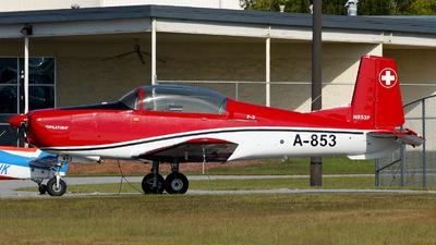 N853P - Pilatus P-3-05 - Private