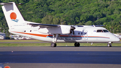 VH-XFU - Bombardier Dash 8-102 - Flight West Airlines