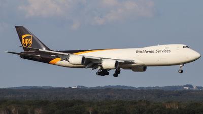 A picture of N625UP - Boeing 7478F - UPS - © Julian Schwamborn