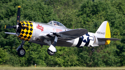 NX1345B - Republic P-47D Thunderbolt - Private