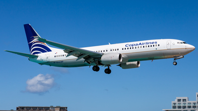 A picture of HP1856CMP - Boeing 7378V3 - Copa Airlines - © Brandon Giacomin